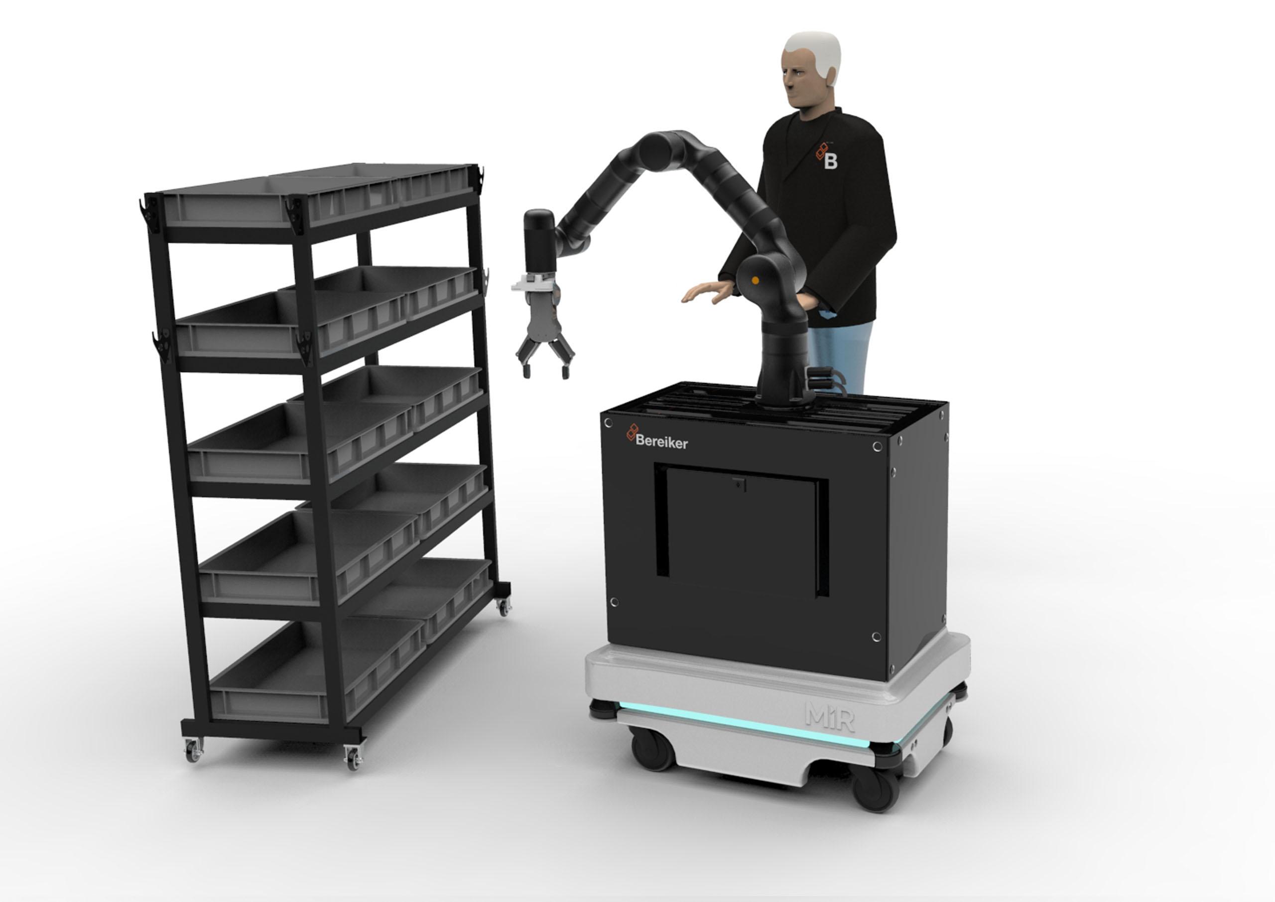 robotica colaborativa ejes bereiker